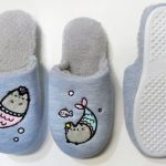 Blue Pusheen Slippers - Coming Soon.