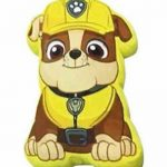 Paw Patrol Rubble Velor Cushion